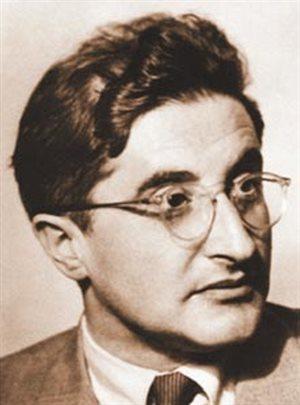 Dr. George Placzek pomáhal při vývojí první atomové bomby Robertu...
