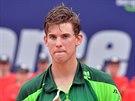 Rakousk� mlad��ek Dominic Thiem ve fin�le turnaje v Kitzb�helu nesta�il na...
