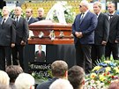 SBOHEM, FRANTO! Na pohřbu Františka Hrdličky byl v čestné stráži také Pavel...
