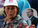 Před volbami v Turecku (8. srpna 2014).