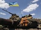 Ukrajinští vojáci museli pořádat o azyl v Rusku. Při bojích na východě země jim...
