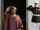 P�edsedkyn� Komise Africk� unie Nkosazana Clarice Dlamini-Zuma p�ich�z� na...
