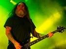 Koncert kapely Slayer na festivalu Brutal Assault 2014 v pevnosti Josefov.