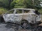 Na odlehlém místě Jesenicka někdo zapálil auto v hodnotě zhruba 780 tisíc...