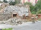 V Uničově začala oprava bašty, která přitom patří kraji. Město tak chce ale po...