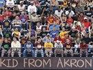 Fanou�ci Clevelandu �ekaj� na n�vrat �kluka z Akronu� - LeBrona Jamese.