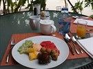 Oblíbená snídaně v tropech – talíř exotického ovoce