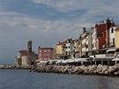 Atmosféra starého města je rozkošná, mnoho Slovinců označuje Piran za nejhezčí