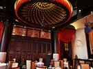 View of the Chinese restaurant LiLi at the Peninsula Paris luxury hotel in Paris