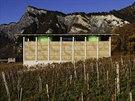 Budova vina�stv� Gantenbein ve �v�carsk� obci Fl�sch vypad� jako napln�n�...