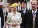 Britská princezna Anna měla stejné šaty jako na veselce svého bratra prince...