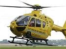 Záchranářský vrtulník, kterým bude létat princ William .