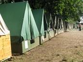Tábor Zálesák� v �elo�nici u Kyjova. (27.7. 2010)