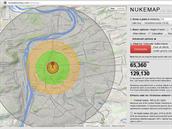 """Výbuch """"Little Boye"""" nad Prahou by zabil 65 tisíc lidí, zraněno by bylo..."""