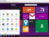 Chromebook 2 od Samsungu m� �adu p�edinstalovan�ch aplikac�, v�etn� iStart. Ta...