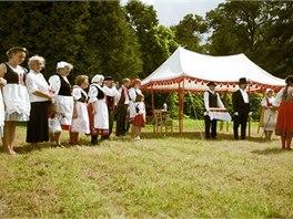 Dožínky hraběte Chotka každoročně oslavují úspěšný konec sklizně.