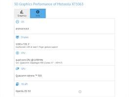 Parametry domnělé Motoroly Moto G2