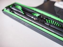 Původní rotační kartáč EB370 ma čištění koberců před úpravou