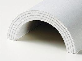 Tvarované sádrokartonové desky White nabízejí v rámci suché výstavby neotřelá