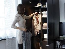Na výběr oblečení si ponecháváme průměrně pět minut.