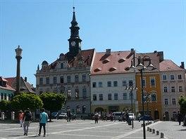 Česká Lípa - k nejvýznamnějším památkám ležících přímo v centru patří...