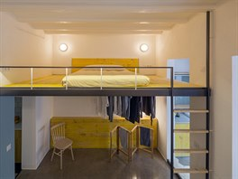 Čtvrtý byt. Architekti celý prostor vybourali a z ospalé díry se stal svěží a...