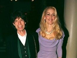 Mick Jagger a Jerry Hallová