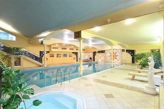 Wellness centrum v TOP HOTELu Praha