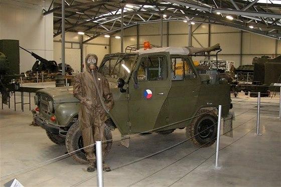 Ve Vojenském muzeu Králíky uvidíte také ochranné pomůcky při napadení
