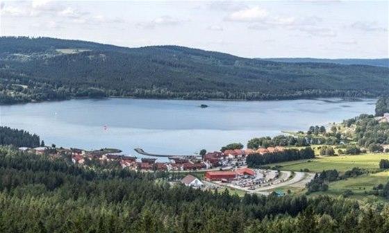 Šumavské město Lipno nad Vltavou se stalo vyhledávaným rekreačním střediskem s