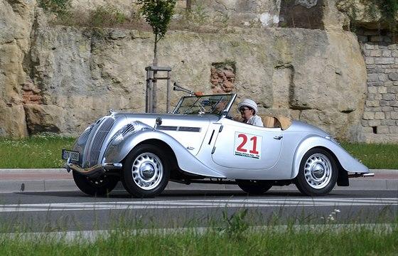 �koda Popular Sport Monte Carlo p�i Oldtimer Bohemia Rally 2014