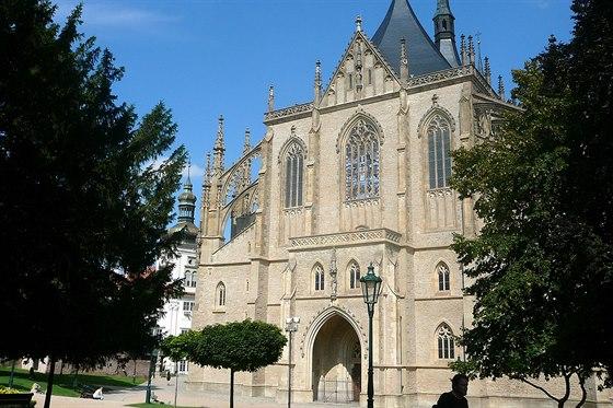 Katedrálu sv. Barbory zná sfotek asi každý.