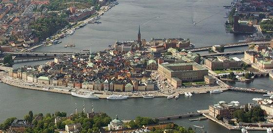 Střed Stockholmu