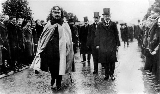 Císař Vilém II na cestě k inauguraci Ústavů císaře Viléma pro chemii a pro...