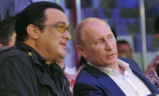 Steven Seagal a Vladimir Putin jsou přátelé.