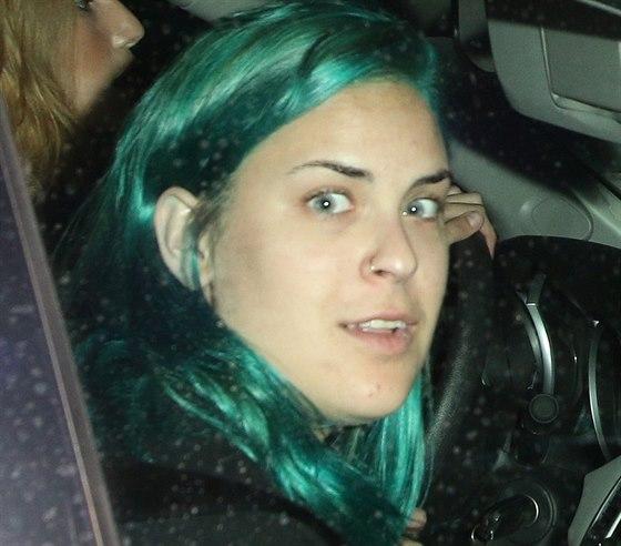 Tallulah Willisová si vlasy obarvila zeleně.