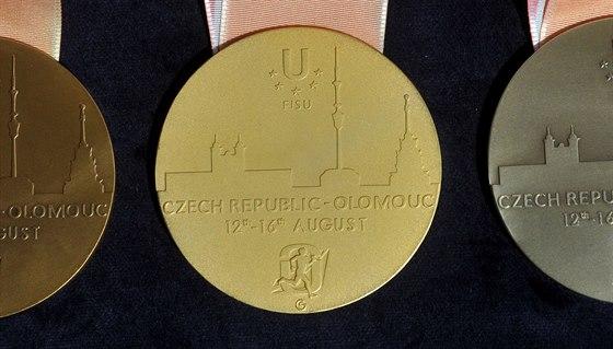 Medaile pro nejlepší na akademickém mistrovství světa v orientačním běhu...