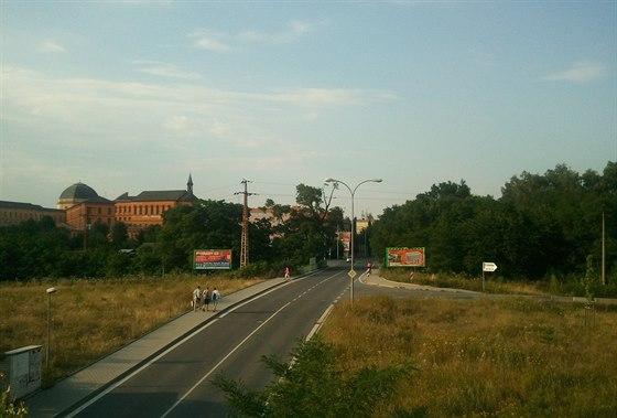 Borské serpentiny: tady podle rozsudku střílel Jiří Kajínek.