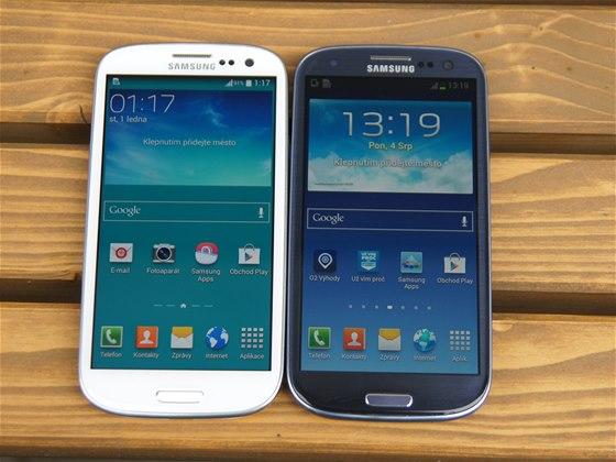 Samsung Galaxy S3 Neo a původní Galaxy S III