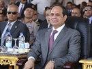 Prezident Sísí se účastní akce, kde byla oznámena výstavba druhého Suezského...