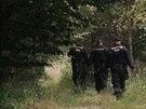 Stovky policist� op�t pro�es�valy Kl�novick� les (15.8.2014)