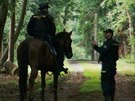 Stovky policistů opět pročesávaly Klánovický les. Do akce byli nasazeni...