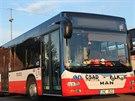 První autobus pražské příměstské linky, který je osazen zařízením s USB vstupem...