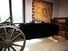 V�stava Zap�a�en� kr�sa v J�zd�rn� Pra�sk�ho hradu. Je zde 17 historick�ch...