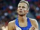 Estonec Rasmus M�gi byl �asem 48,54 nejrychlej��m mu�em semifin�le �ty�stovky...