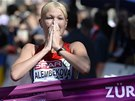 Ruska Elmira Alembekovová vyhrála na ME v Curychu chodecký závod na 20
