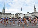 Chodeck� z�vod na 20 kilometr� �en na ME atlet� v Curychu