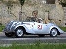 �koda Popular Sport Monte Carlo p�i leto�n� Oldtimer Bohemia Rally