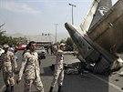 Podle nepotvrzených zpráv letoun havaroval kvůli výpadku motoru (10. srpna...