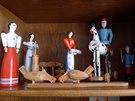 Oblíbené dřevěné krounské hračky neslouží jenom na hraní, řadu lidí potěší i na...